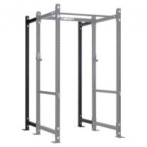 Mirafit M3 Power Rack with 228cm Black Extension Kit on White Background