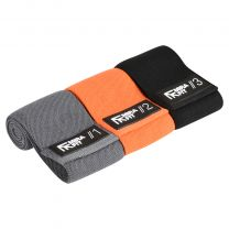 Mirafit Fabric Resistance Bands Set on White Background