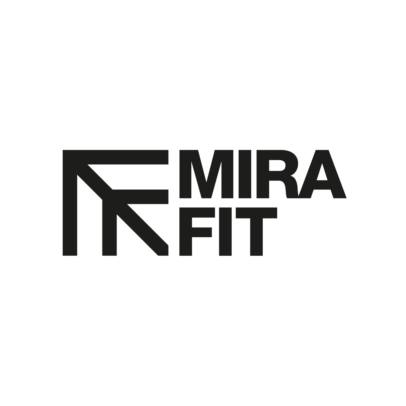 Mirafit Black M3 Power Cage on White Background