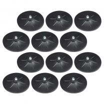 Set of 12 Mirafit Free Standing Punch Bag Floor Suction Cups