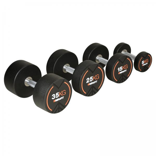 Training with dumbbells: Chest