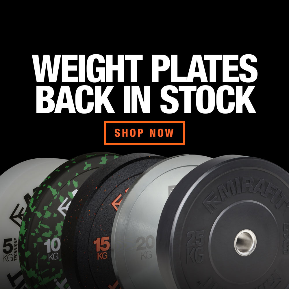 Mirafit Weight Plates In Stock Now